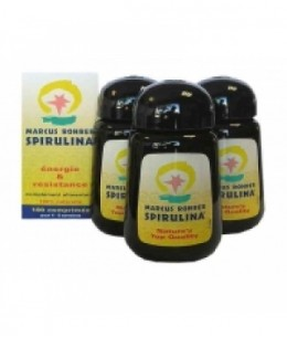 Marcus Rohrer - Spiruline Cure de 3 mois - 540 comprimés