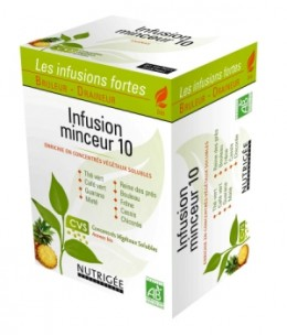 Nutrigee - Infusion Minceur 10 plantes - 30 sachets