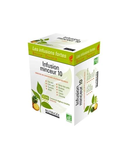 Nutrigee - Infusion Minceur 10 plantes - 30 sachets