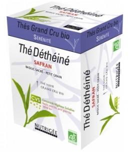 Nutrigee - Thé Déthéiné basilic sacré/petit grain bio - 30 sachets