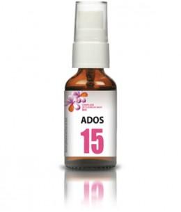 Les Sens Des Fleurs - Complexe 15 ADOS Fleurs de Bach spray - 20 ml
