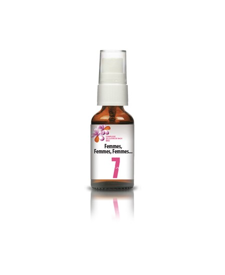 Les Sens Des Fleurs - Complexe 7 FEMMES, FEMMES, FEMMES...Fleurs de Bach spray - 20 ml