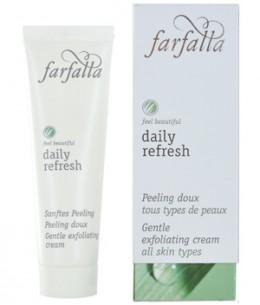 Farfalla - Daily Refresh Peeling doux Aloe et micro billes de Riz - 30 ml