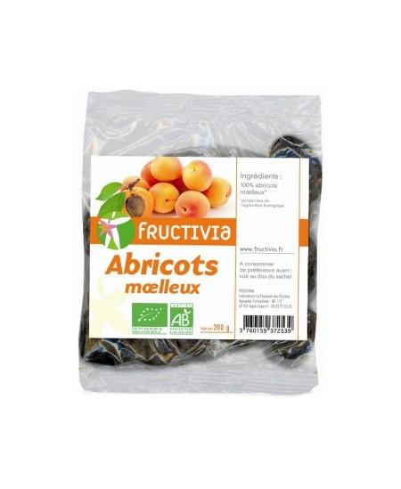 Fructivia  - Abricots Moëlleux dénoyautés - 200 gr