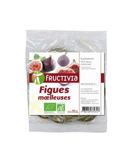 Fructivia  - Figues Moëlleuses - 200 gr