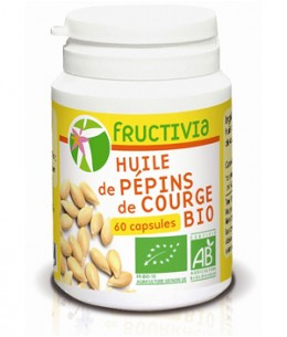 Fructivia  - Huile de Pépin de Courge - 60 capsules