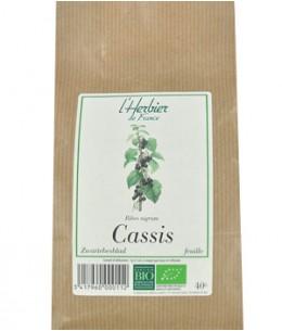 Herbier De France - Cassis Feuilles - 40 gr
