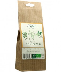 Herbier De France - Hamac infusion Anti stress sachet - 35 gr