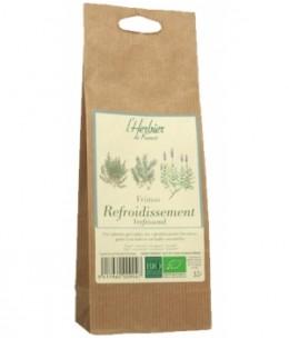 Herbier De France - Infusion Frimas refroidissements en sachet kraft - 35 gr
