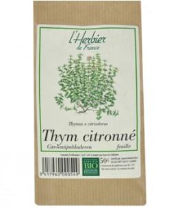 Herbier De France - Thym citronné Feuilles - 50 gr