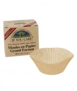 If You Care - 60 Moules en papier non blanchi