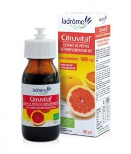 Ladrome - Citruvital extrait de pépins de pamplemousse 1000 mg - 50 ml