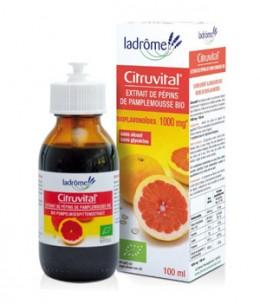 Ladrome - Citruvital extrait de pépins de pamplemousse 1000 mg - 100 ml