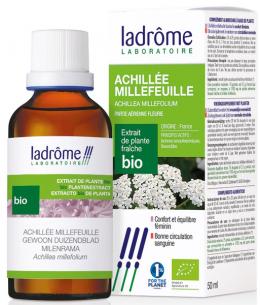 Ladrome - Extrait de plantes fraîches Achillée millefeuille bio - 50 ml
