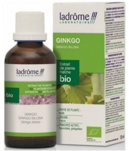 Ladrome - Extrait de plantes fraîches Ginkgo bio - 50 ml