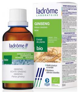 Ladrome - Extrait de plantes fraîches Ginseng - 50 ml