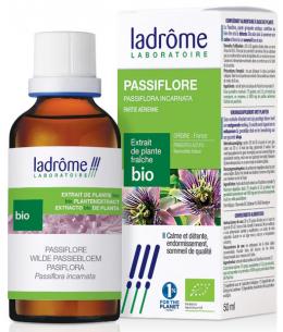 Ladrome - Extrait de plantes fraîches Passiflore bio - 50 ml
