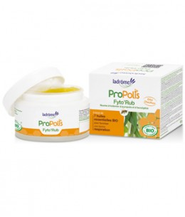 Ladrome - Fyto'Rub Baume respiratoire à la Propolis - 45 ml