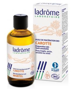 Ladrome - Huile de macération de Carotte teint ensoleillé - 100 ml