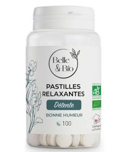 Belle et Bio - Pastilles Relaxation aux Huiles essentielles - 100 Pastilles