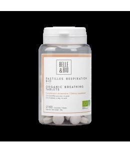 Belle et Bio - Pastilles Respiration aux Huiles essentielles - 100 Pastilles