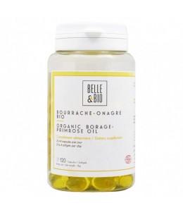 Belle et Bio - Bourrache Onagre bio - 120 capsules