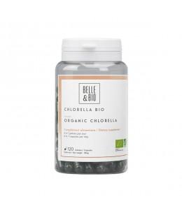 Belle et Bio - Chlorella Minuscule Algue d'eau douce - 120 gélules
