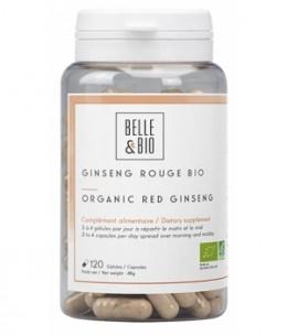 Belle et Bio - Ginseng rouge bio - 120 gélules