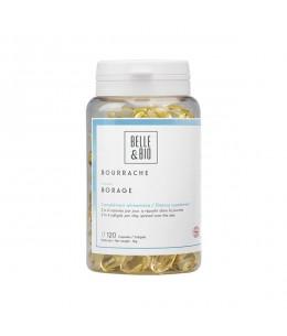 Belle et Bio - Huile de Bourrache bio - 120 capsules