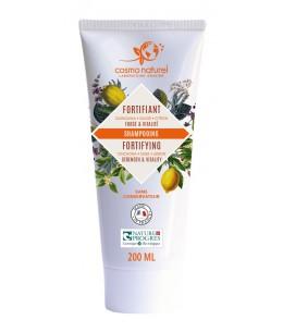 Cosmo Naturel - Shampoing Fortifiant Quinquina Sauge Citron - 200 ml