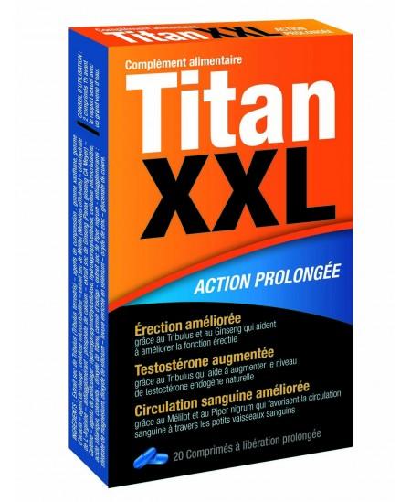 Labophyto - Titan XXL action prolongée - 20 comprimés