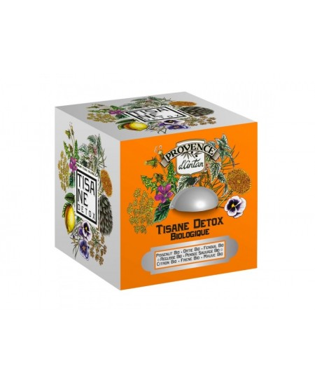 Provence D Antan - Tisane Détox bio - 24 sachets boite métal