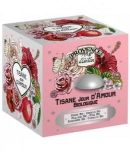 Provence D Antan - Tisane Jour d'Amour bio - 24 sachets boîte méta