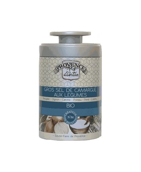 Provence D Antan - Gros sel de Camargue aux légumes bio - 90g boîte métal