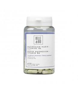 Belle et Bio - Magnésium Marin Vitamine B6 -  120 gélules