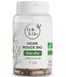 Belle et Bio - Vigne Rouge bio - 120 gélules
