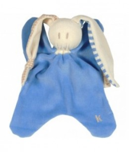 Keptin jr - Doudou toddel Corflower (bleu) - 21 cm