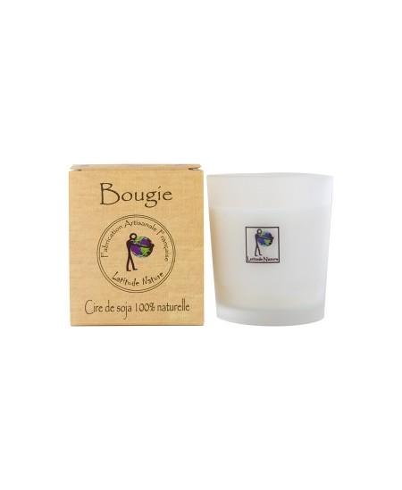 Latitude Nature - Bougie votive Violet et Rose - 75 gr