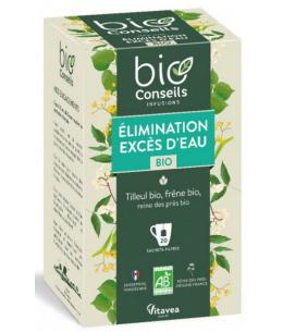 Bio Conseils - Infusion Excès d'eau Elimination bio - 20 sachets