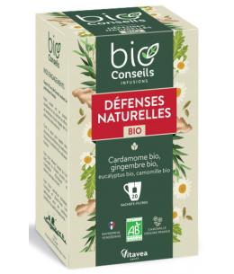 Bio Conseils - Infusion Défenses naturelles bio - 20 sachets