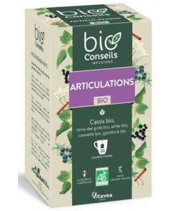 Bio Conseils - Infusion Articulations bio - 20 sachets