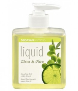Sodasan - Savon liquide Citron Olive - 300 ml