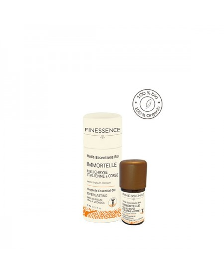 Finessence - Huile Essentielle Immortelle helichryse d'Italie et Corse bio - 2ml