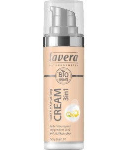 Lavera - Crème hydratante teintée 3 en 1 Q10 Ivory Light 01 - 30ml