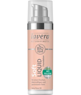 Lavera - Fond de teint liquide Ivory Rose 00 - 30ml