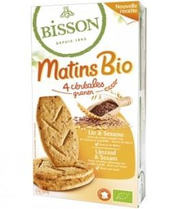 Bisson - Matin bio Lin et Sésame - 200 gr