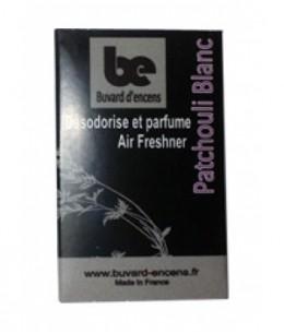 Buvards D Encens - Buvard d'encens Patchouli Blanc 36 feuillets