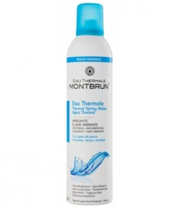 Eau Thermale Montbrun - Brumisateur d'eau thermale pure - 300 ml