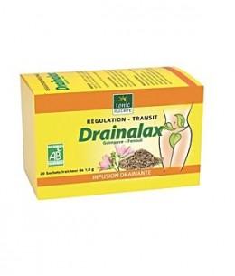 Tonic Nature - Drainalax bio Elimination Transit 20 sachets tisane