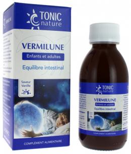 Tonic Nature - Vermilune équilibre intestinal formule liquide arome vanille - 150 ml